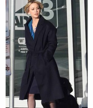 Cassie Bowden Black Trench Coat