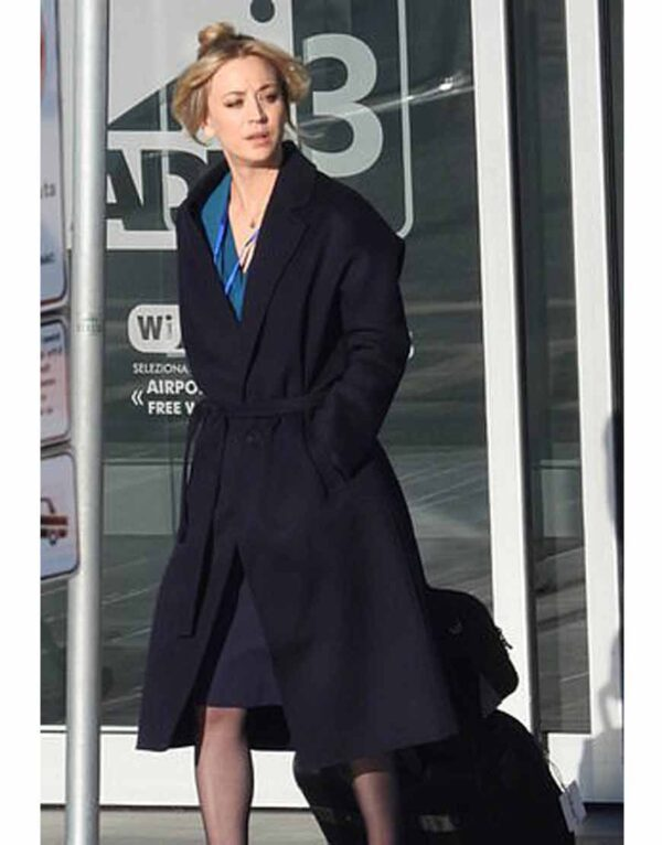 Cassie Bowden Black Trench Coat
