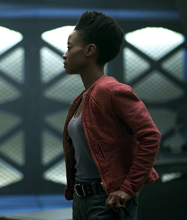 Lost In Space Sibongile Mlambo Red Jacket