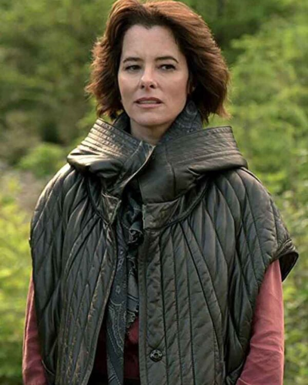 Parker Posey Lost In Space Leather Jacket