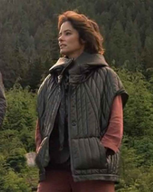 Lost In Space Parker Posey Leather Jacket