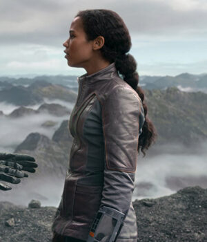 Lost In Space Taylor Russell Leather Jacket