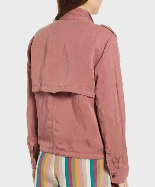 Lucifer S05 Chasten Harmon Pink Jacket
