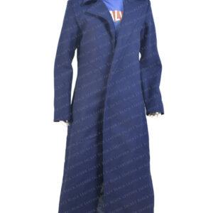 Nicole Kidman The Undoing Blue Trench Coat main