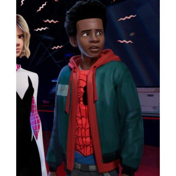Spider Man Miles Morales Hoodie Jacket