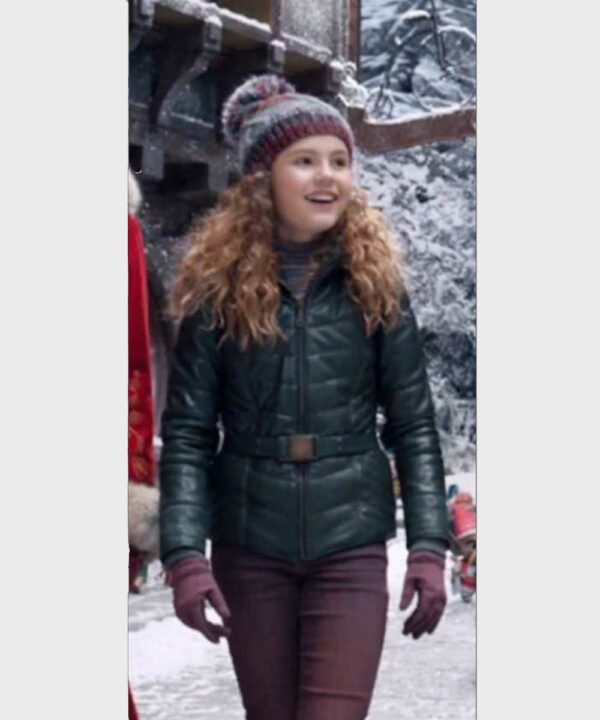 The Christmas Chronicles 2 Kate Darby Green Jacket