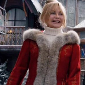 The Christmas Chronicles 2 Goldie Hawn Red Coat