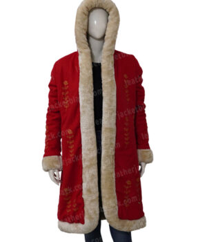 The Christmas Chronicles 2 Mrs. Claus Red Coat Front