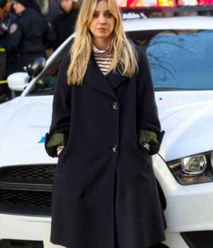 The Flight Attendant Cassie Bowden Black Coat
