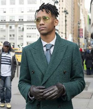 Griffin Matthews Green Coat