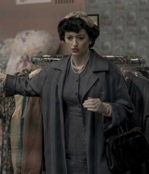 The Queens Gambit Marielle Heller Grey Coat