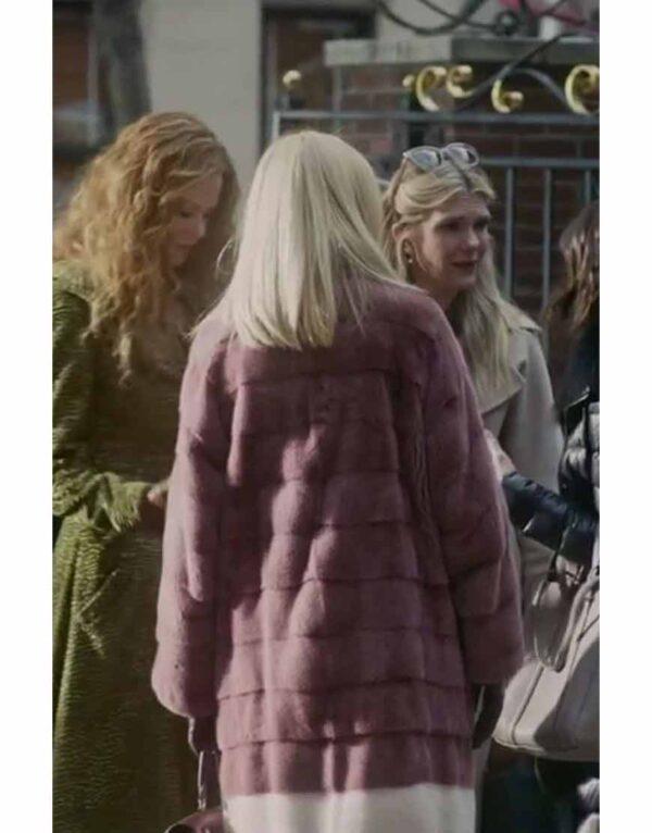 Sally Morrison The Undoing Pink Coat