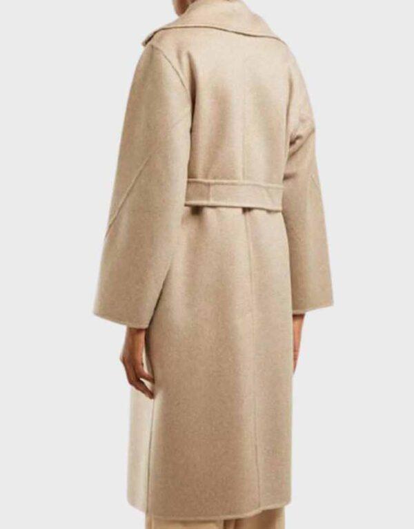 The Undoing Sylvia Steineitz Beige Coat