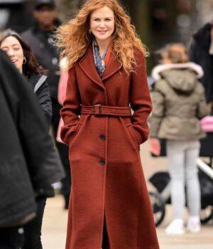 The Undoing Grace Fraser Long Brown Coat