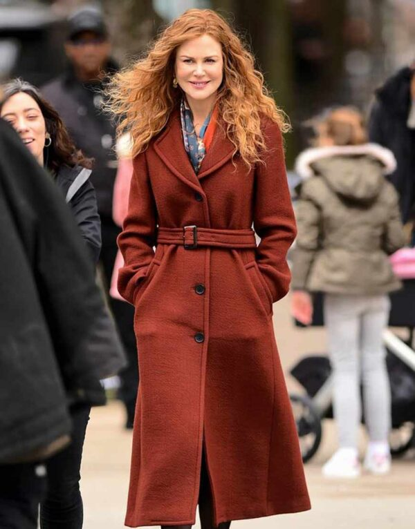The Undoing Grace Fraser Long Brown Coat