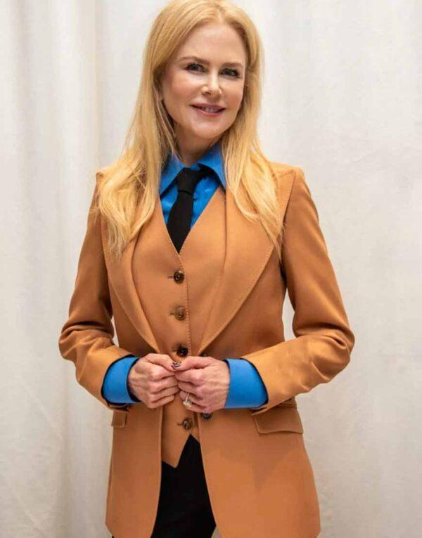 The Undoing Grace Fraser Brown Suit Coat