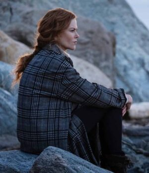 The Undoing Grace Fraser Green Checked Coat