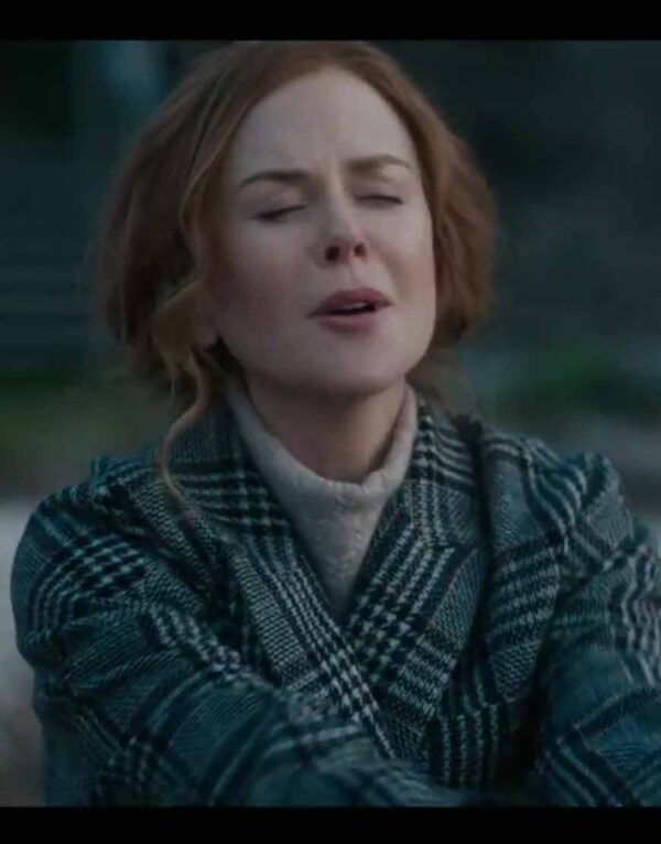 The Undoing Grace Fraser Checked Coat