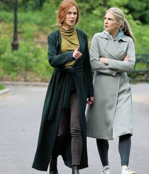 The Undoing Grace Fraser Green Long Coat