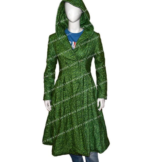 The-Undoing-Nicole-Kidman-Green-Trench-Coat-leather-jacket-black-Hoodie