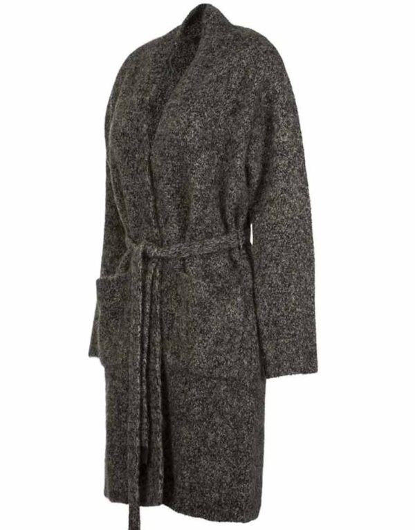 Grace Fraser Grey Wrap Cardigan