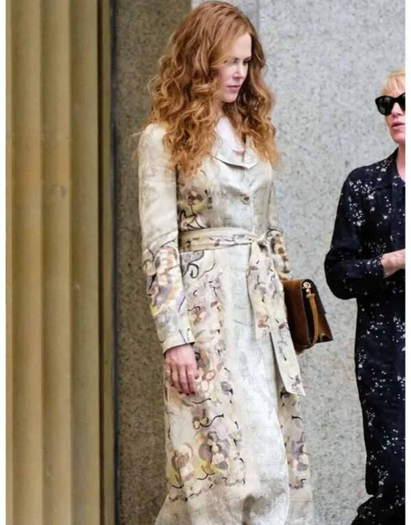 The Undoing Grace Fraser Printed Floral Coat