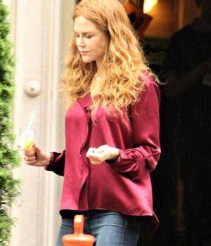 Grace Fraser Red Shirt