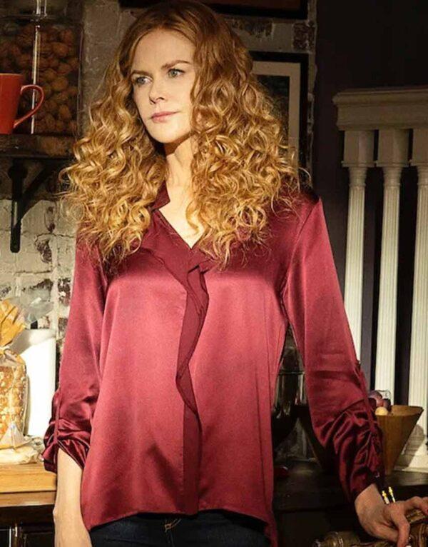 Grace Fraser Maroon Shirt