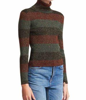 The undoing Grace Fraser Green Sweater