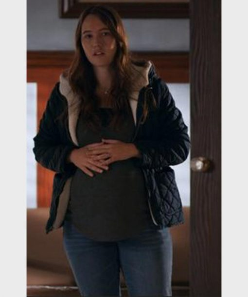 Kate Williamson Virgin River S02 Black Jacket