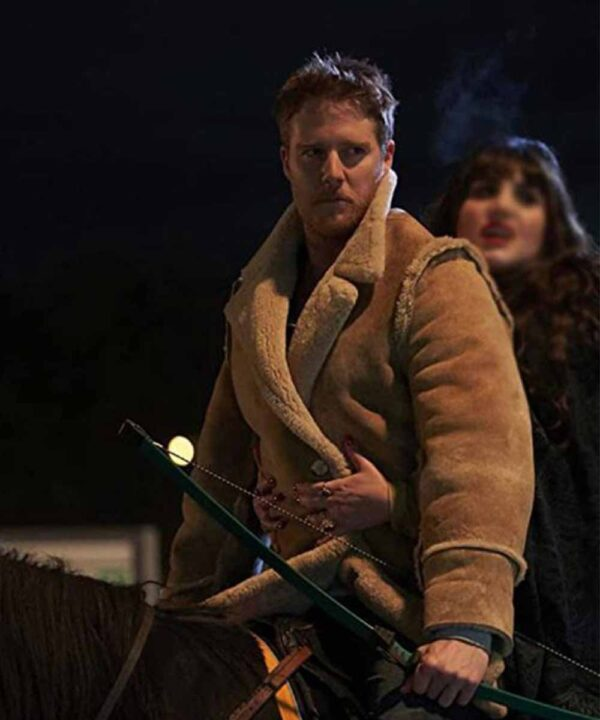 What We Do in the Shadows Jake McDormanBrown Suede Leather Jacket