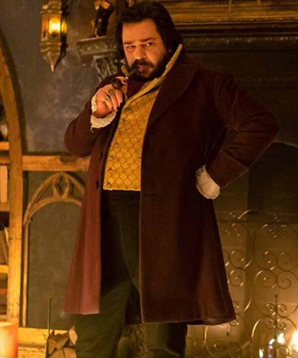 Laszlo Cravensworth What We Do in the Shadows S02 Maroon Coat