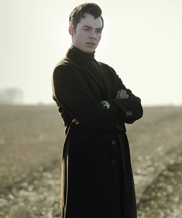 Jack Bannon Alfred Pennyworth Black Coat