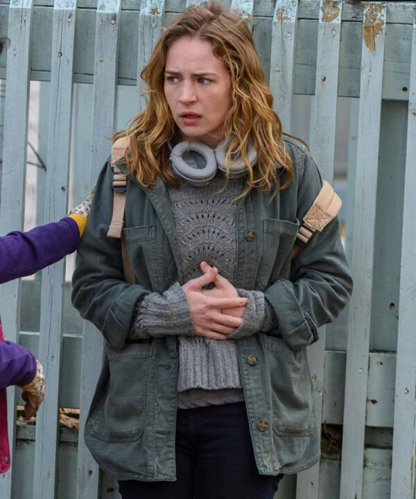 Britt Robertson Cotton Jacket