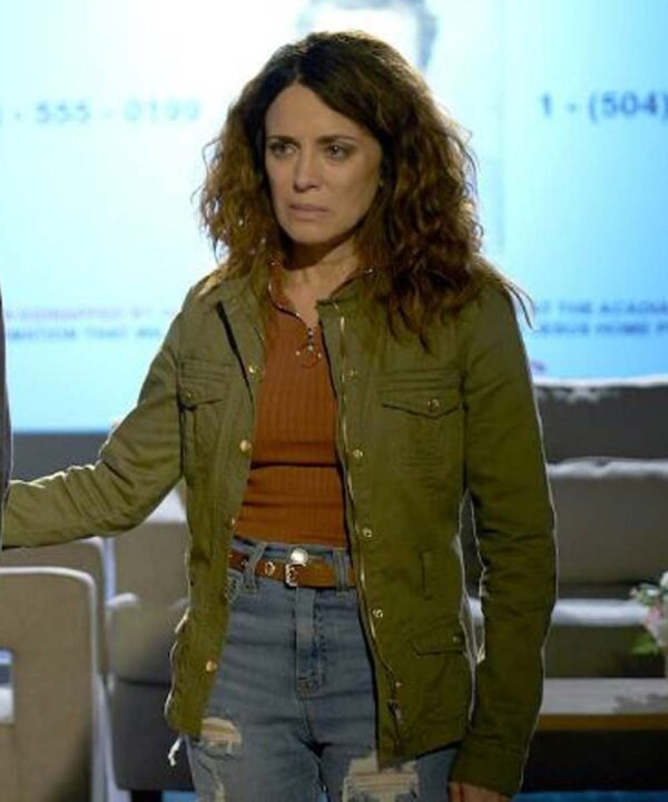 Alanna Ubach Green Jacket