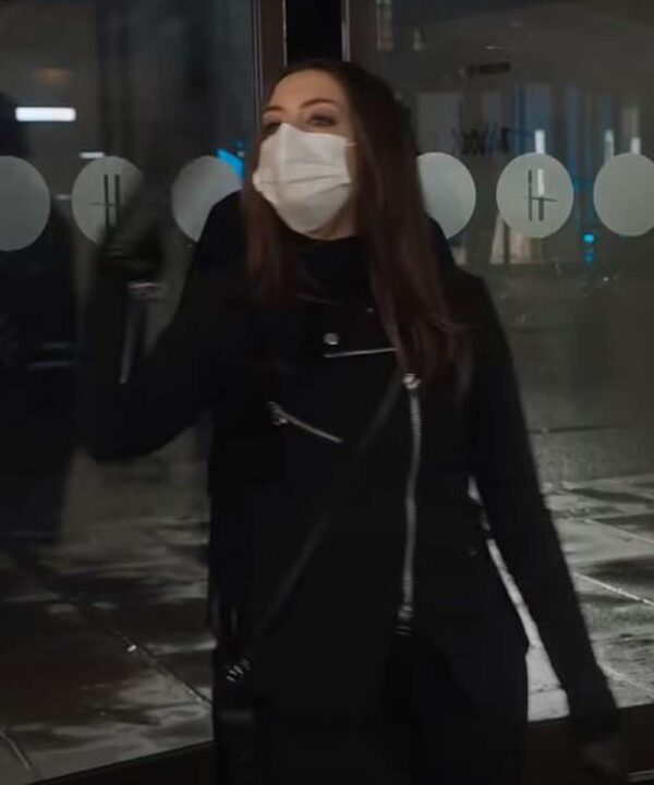 Anne Hathaway Locked Down Jacket