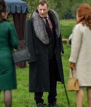 Jason Flemyng Pennyworth Black Coat