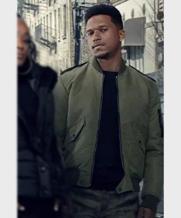 Daniel Bellomy Green Bomber Jacket