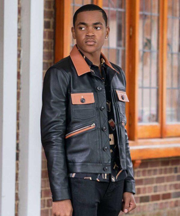 Michael Rainey Jr Power Book II Ghost Leather Jacket
