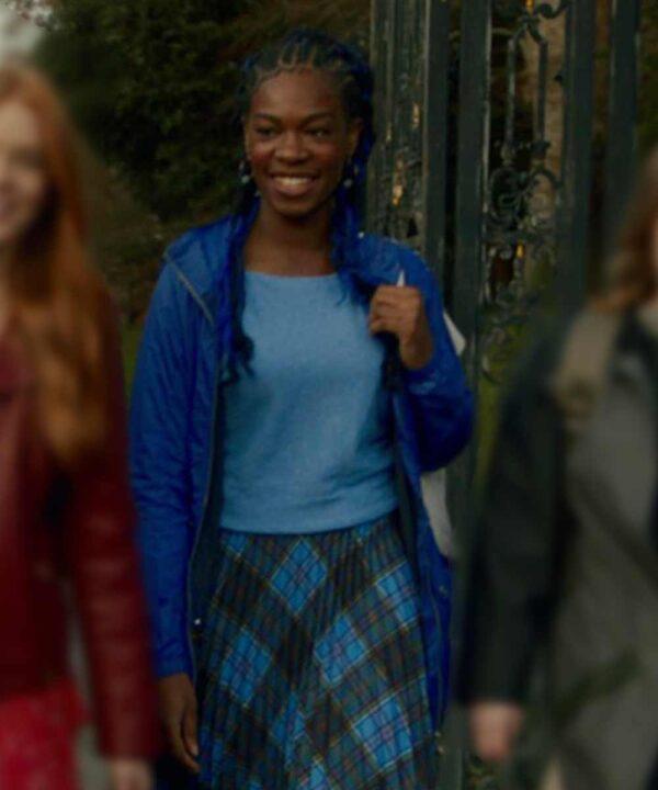 Fate The Winx Saga Precious Mustapha Blue Jacket