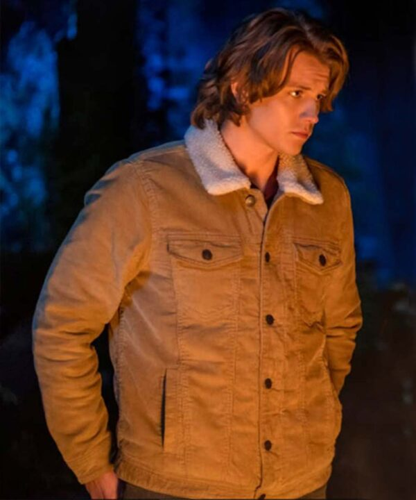 Nancy Drew Alex Saxon Brown Fur Colllar Jacket