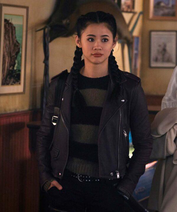 Leah Lewis Nancy Drew Black Jacket