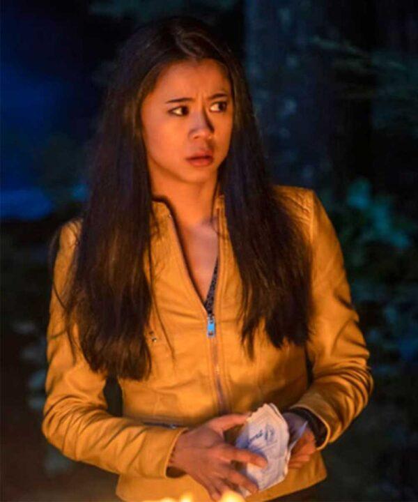 Leah Lewis Nancy Drew Yellow Jacket
