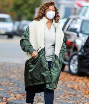The Equalizer Robyn McCall Shearling Coat