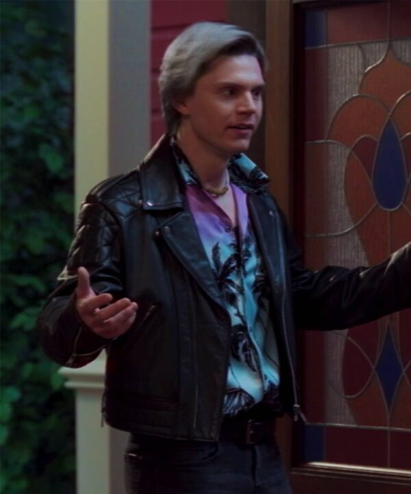 WandaVision Evan Peters Black Jacket