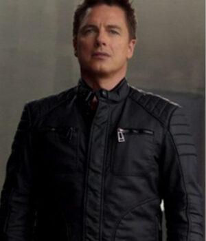 Arrow John Barrowman Black Jacket
