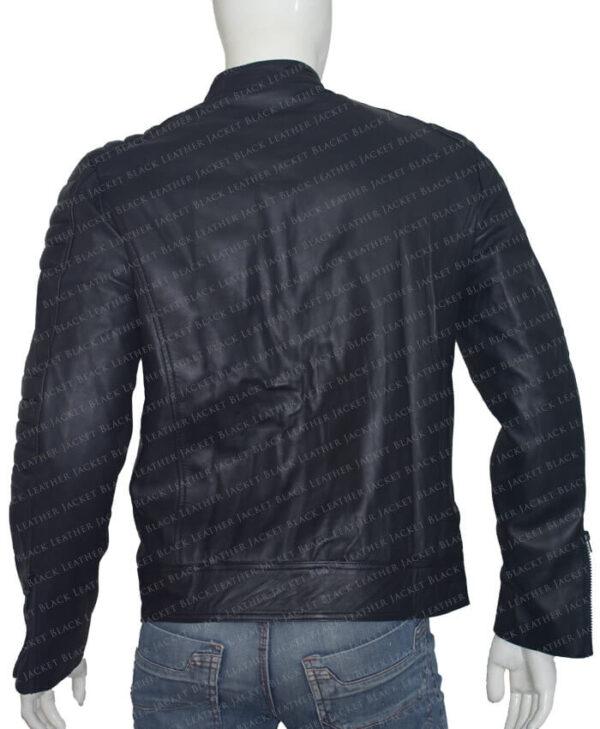 Arrow John Barrowman Black Jacket back