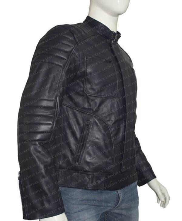Arrow John Barrowman Black Jacket side