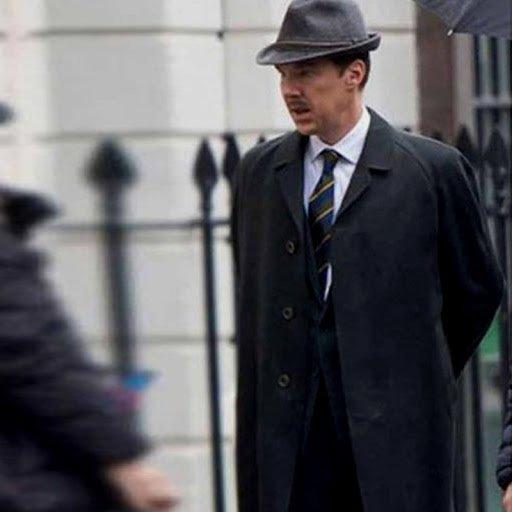 Benedict Cumberbatch in The Courier Black Coat