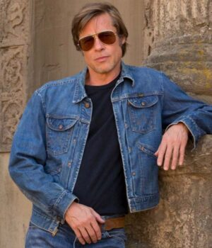 Brad Pitt Once Upon A Time In Hollywood The Denim Jacket